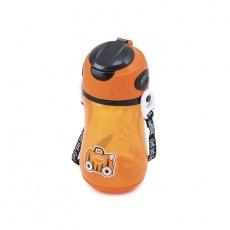 Bidon ze słomką Tipu pomarańczowy TRUA-0298