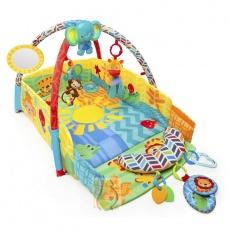 Edukacyjna mata plac zabaw słodkie safari 52157
