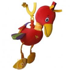 Fruwający ibis z wibracjami