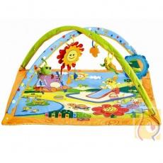 Gimnastyka dla bobasa z pałąkami - Słoneczny dzień