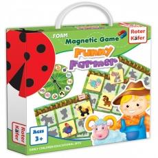 Gra magnetyczna Wesoły farmer