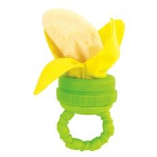 Gryzak frotte banan z uchwytem S-80668