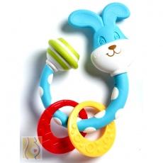 Gryzaczek grzechotka króliczek