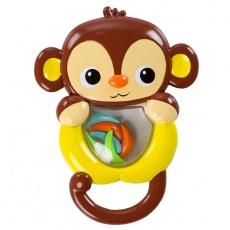 Grzechotka przyjaciele z tropików - małpka 11114