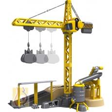 I/R Crane Deluxe Set dźwig zdalnie sterowany 81117