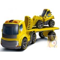 I/R Zestaw Truck + koparka zdalnie sterowany 81118
