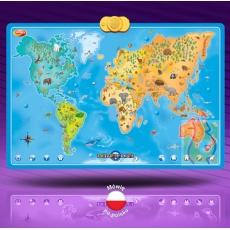 Interaktywna Mapa Zwierzęta Świata DD60846