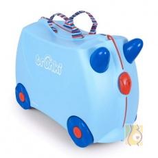 Jeżdżąca walizeczka George z kolorowymi rączkami TRU-0166