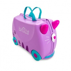 Jeżdżąca walizeczka kotek Cassie róż TRU-0322
