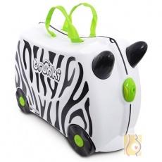 Jeżdżąca walizeczka zebra Zimba TRU-0264
