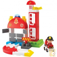 Klocki straż pożarna 45el. 1629