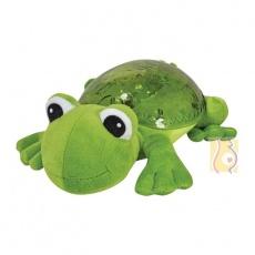 Lampka nocna żabka zielona z dźwiękiem CLTT-7423-FG