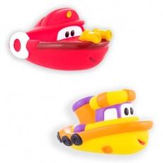 Łódki 2szt czerwona i żółta S-10089