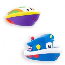 Łódki 2szt niebieska i fioletowa S-10089