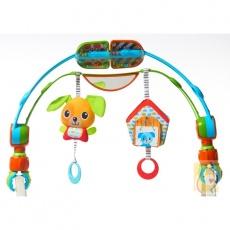 Łuk z zabawkami Spin\'n\'Kick