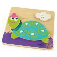 Moje pierwsze puzzle - żółw Tina BKN-8516