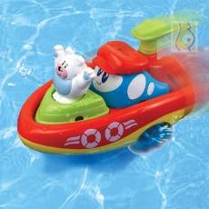 Nakręcona łódka miś polarny DD43250