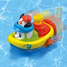 Nakręcona łódka pingwin DD43250
