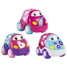 OBALL Go Grippers Samochodziki pink 3-pack 10784