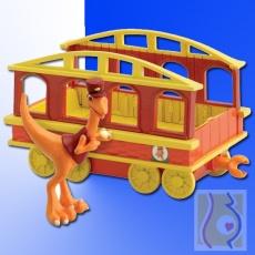 Pan Konduktor z wagonikiem LC53006