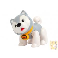 Pierwsi przyjaciele - Pies husky szary 87404