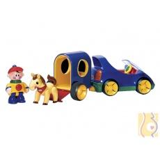 Pierwsi przyjaciele - Samochód Tolka z przyczepą dla konika 89910