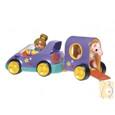 Pierwsi przyjaciele - Samochód Toli z przyczepą dla konika 89911