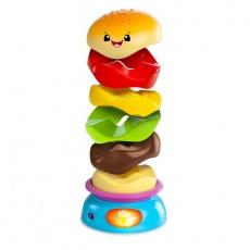 Piramidka zakręcony burger Bright Starts 52126