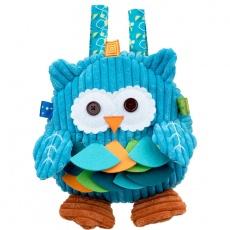 Plecak sowa niebieska DD89604