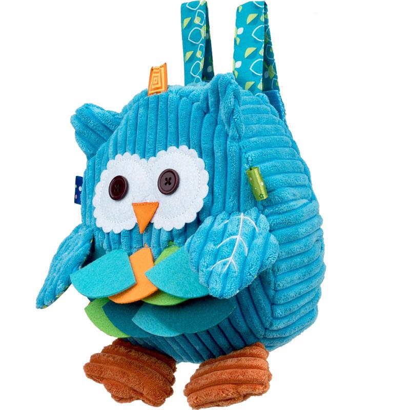 Balibazoo Plecak sowa niebieska DD89604 OU :: Zabawki Bright