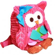 Plecak sowa pink DD89503