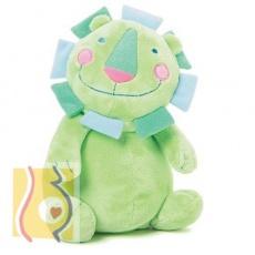 Pluszowy lew zielony 15 cm