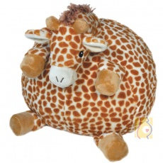Przytulanka - pufa żyrafa CL-17361-LG