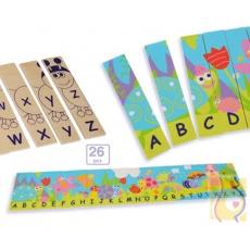 Puzzle dwustronne - alfabet BKN-8524