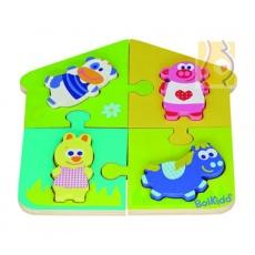 Puzzle podwójne farma BK-4022