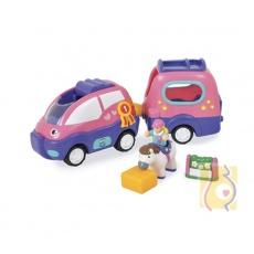 Samochód Poppy z przyczepką dla koni WOW10319