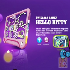 Świecąca ramka Hello Kitty DD37105