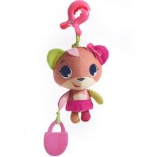 Tiny Smarts - zawieszka miś Izzi różowy