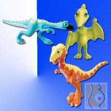 Trójpak Darek, Olek i Tata Pterodon LC53053