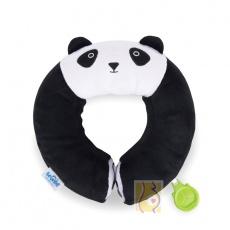 Zagłówek Yondi panda Pablo czarny r.M TRUA-0246