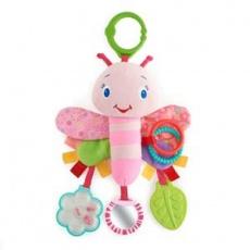 Zawieszka Motylek Pink 9182