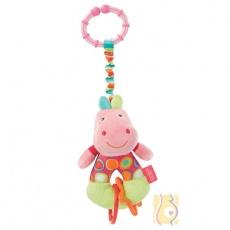 Zawieszka przytulanka wibrująca hipopotam FE085631