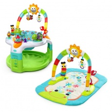 Zestaw krzesełko zabaw HIP-HOP i mata słoneczko 60539
