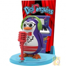 OU DigiPenguins na scenie Travis fioletowy S88347/47