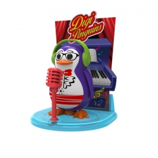 DigiPenguins na scenie Travis fioletowy S88347/47 OU