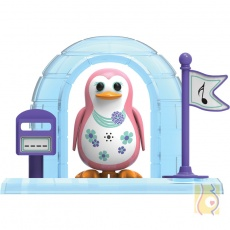 DigiPenguins z igloo Paige jasno różowy S88344/43 OU