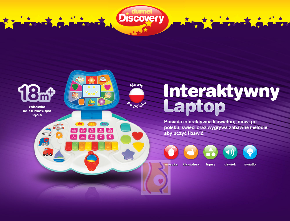 Interaktywny laptop DD33910