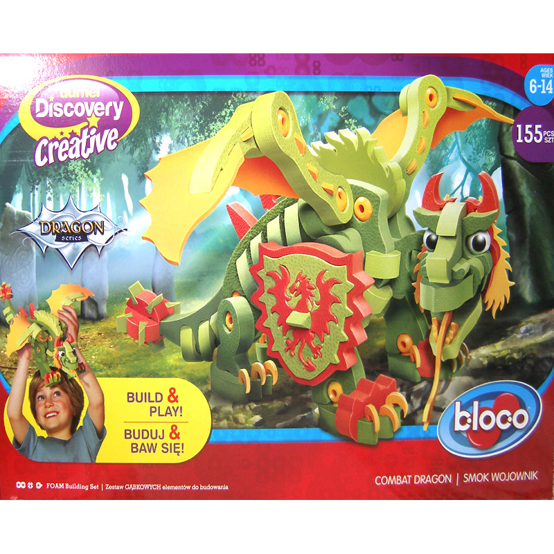Puzzle piankowe 3D Bloco Combat Dragon DD20002
